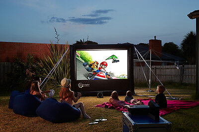 Outdoor home theatre - hours of fun all Summer long!