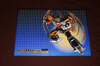 G1 Transformers Decepticons 1st saison de la série Team Photo Poster 11x17