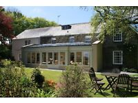 Live in Couple wanted to assist at Boutique Country House Hotel on the North Devon Coast