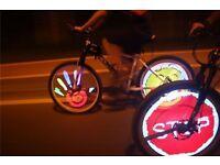 Bicycle Programmable LED Wheel Light Waterproof Bike for kids boys or girls men women