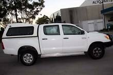 2007 Toyota Hilux 4x4 D4D Auto 4 Door Ute Dual Cab Chatswood Willoughby Area Preview