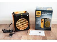 Fan heater JCB3UF £10