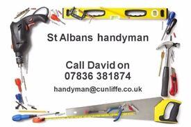 Alban Handyman, St Albans area, no job too small