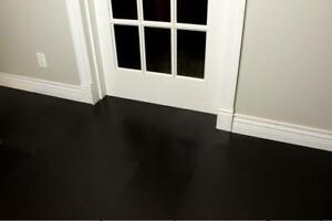 Water-resistant Black Tiles, Go with Jet Black 8mm Cork Tiles. Order Free Sample Today