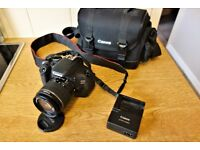 Canon 600D with Canon EFS 18-55mm Mk3 Lens Package