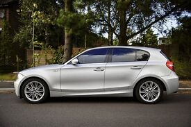 BMW 1 Series 2.0 120d M Sport 5d Auto, New Engine fitted by BMW, recently serviced, 1 yr MOT, FSH