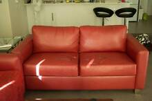 Couch Sofa Chair Love Seat 3 Piece Set Red Success Cockburn Area Preview