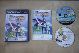 Phantom Brave PS2 game, rare with soundtrack disc