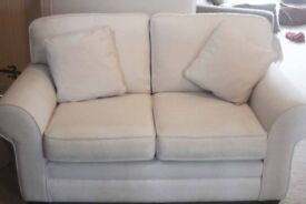 cream sofa / settee