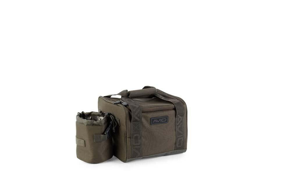 Avid Carp A-Spec Compact Cooler Angler Tasche Karpfen Angeln isoliertes Material