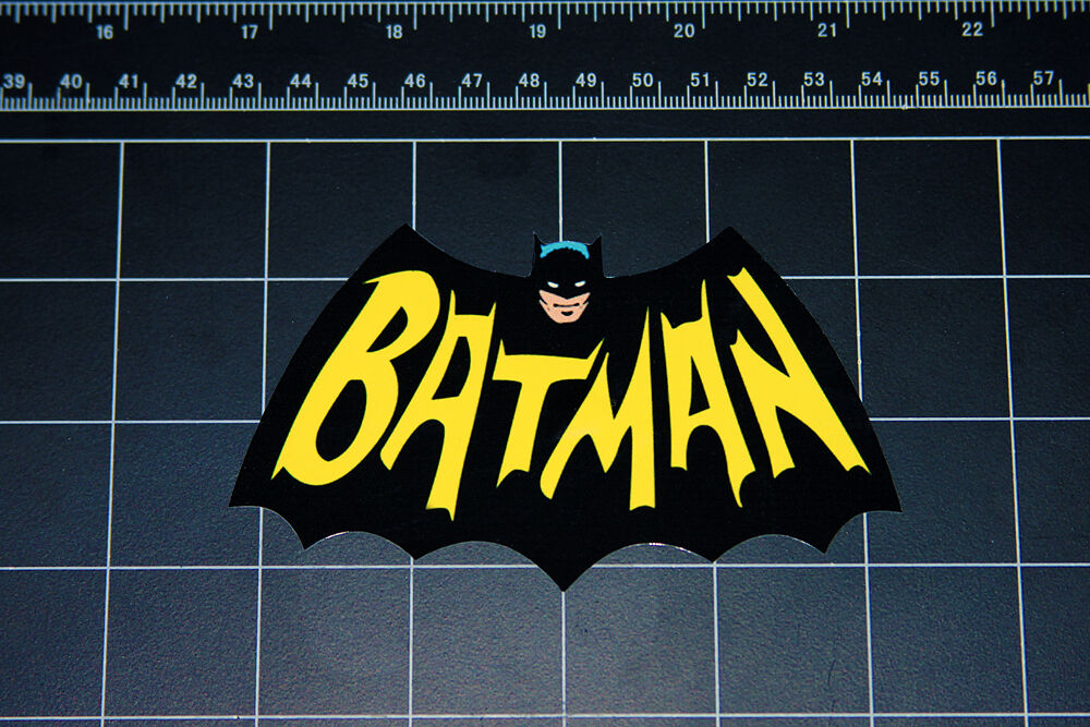 Batman retro bat wing logo vinyl decal sticker comic book tv show robin joker