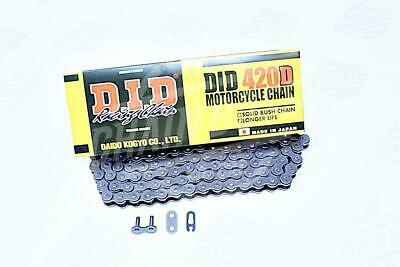 DID 420 x 120 Links Standard Series  Non Oring Natural Drive Chain