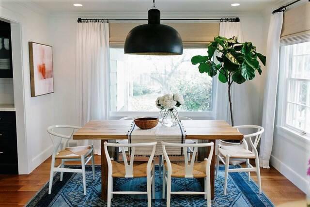 Hans Wegner Replica Wishbone Dining Chair WHITE / NATURAL ...
