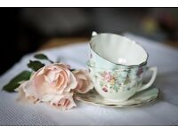 Vintage China and Props Hire Business for sale
