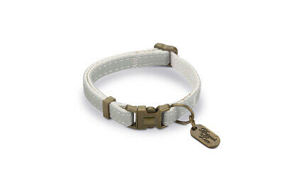 Designed By Lotte Nylon Cat Collar Virante Mint 10mm X20-30cm