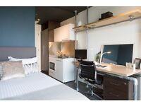 Studio Flat at Chapter Spitalfields Student Accommodation near Liverpool Street Station