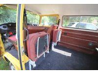 VW T2 baywindow bay camper campervan Dormobile folding dickie buddy seat 1 off