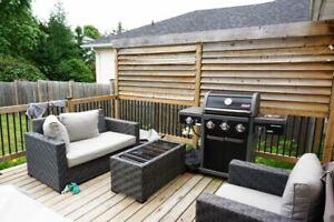Beautiful Four Bedroom, Finished Basement + Backyard in East End