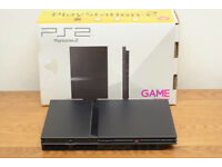 Playstation PS2 with 2 Controllers and 2 Memory Cards