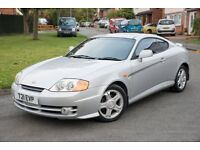 HYUNDAI COUPE 2.0 SE SILVER JUST 80,000 MILES LAST OWNER 7 YEARS FULL LEATHER MUST BE SEEN