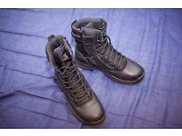 Doctor Martens mens black boots *UK Size 7* - Only worn once