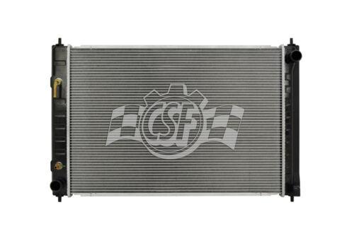 Radiator-1 Row Plastic Tank Aluminum Core CSF 3210