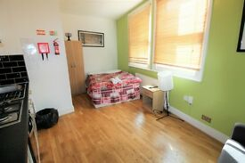 Studio flat in Churchway, Euston, London NW1