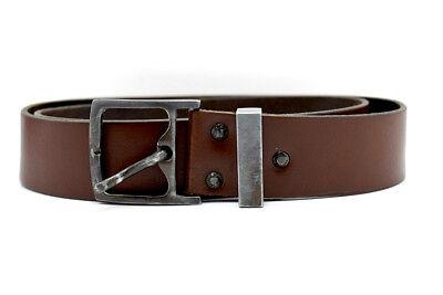 Stephen Collins Original Mens Leather Belt Brown Size 34