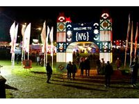 ***Discount weekend camping ticket to Festival No. 6***