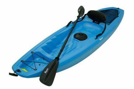 Full recreational kayak packages for $250 with backrest & paddle