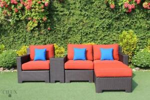 Patio Furniture SALE! FREE Shipping in Hamilton! Outdoor Sectional with Coffee and Side Tables by Cieux!