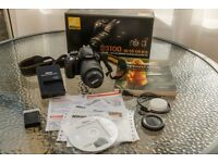 Nikon D3100 18-55mm VR Kit Bundle: Excellent Condition + Boxed