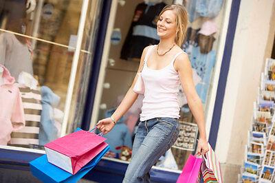 Auch Power-Shopping in der Stadt verbrennt einige Kalorien. (© Thinkstock via The Digitale)