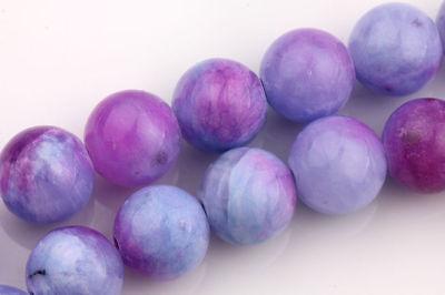 20Pcs Natural Persian Jade Stone Gemstone Round Spacer Loose Beads Jewelrys 8mm