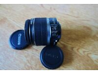 Canon EFS 18-55mm Image Stabilised Lens