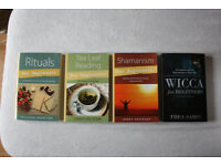 New Magick, Esoteric & Occult Books, from £10 each – Rituals, Reading Tea Leaves, Wicca & Shamanism