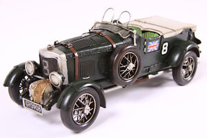 TIN MODEL VINTAGE RACING CAR collectable item