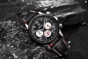WOW The most Amazing Full Automatic  BENYAR Chronograph  Watch With  Luxury Leather Free Shipping
