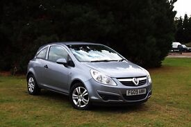2009 VAUXHALL CORSA 1.0 ACTIVE 47K LOW MILES! 1 LADY OWNER! HPI CLEAR! CLEAN CAR! FIESTA
