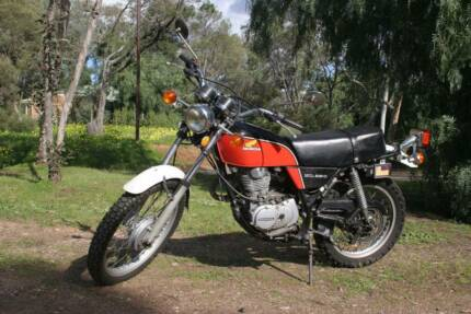 1976  red Honda XL250  enduro  low country Kms Gawler Gawler Area Preview