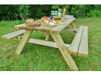Combined garden table Classic Lux