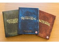 Lord of the Rings Special Editions (ALL 3 PACKS!)