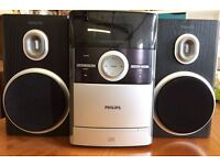 Philips MC147/05 Micro Hi-Fi System with CD and Tape Deck