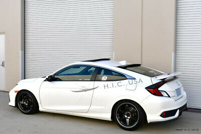 HIC USA 2017 to 2020 Civic 2dr coupe rear window roof visor spoiler NEW