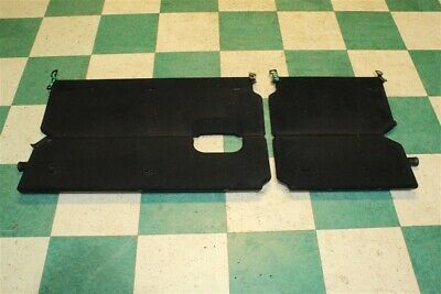 13-18 Ram Quad Cab Rear Back Under Seat Cargo Tray Fold Out Panels Pair -