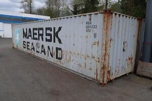 40' Cargo Worthy Shipping Containers