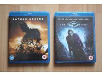 Batman Begins, The Dark Knight and Final Fantasy Advent Children, cheap Bluray films