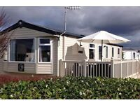 Luxury caravan situated on Greenacres Holiday Park