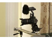 Rode Stereo Videography Video DSLR Camera Mic used once.