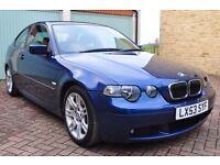 BMW 3 SERIES (E46) 325TI SPORT 6-Speed 2003